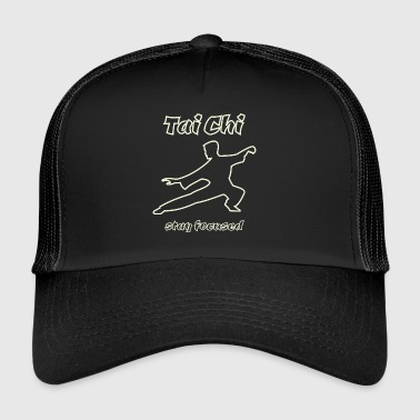 Tai Chi - stay focused (Neon Edition) - Trucker Cap