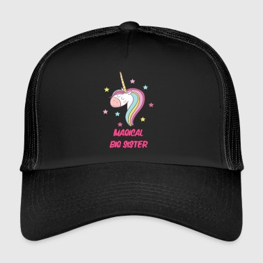 hermana mayor mágica - Gorra de camionero