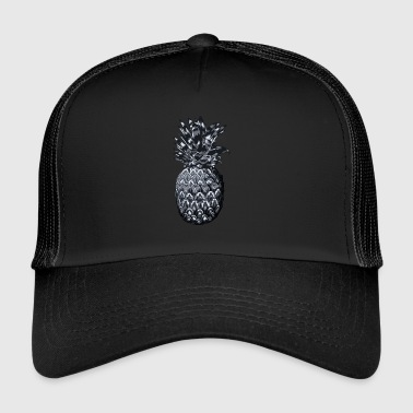 Ananas med ornament - Trucker Cap