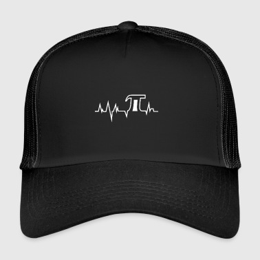 Pi Day impulso Pi - Pi Day - Bianco - Trucker Cap