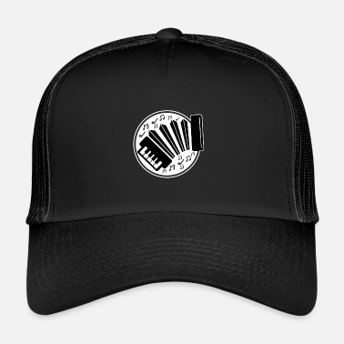 Accordion I love accordion music with the accordion - Trucker Cap
