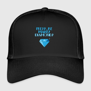 Diamant Diamanter - Diamanter - Diamant - Print - Trucker Cap