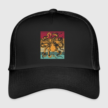 Octopus Retro - Trucker Cap