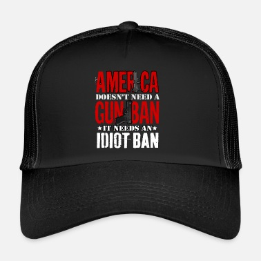 Interdiction Interdiction des armes ou interdiction d'Idoten - Trucker Cap