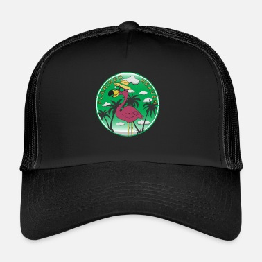 Heaven Flamingo Heaven - Trucker Cap