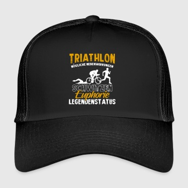 Triathlon Shirt · Triathleten · Legendenstatus - Trucker Cap