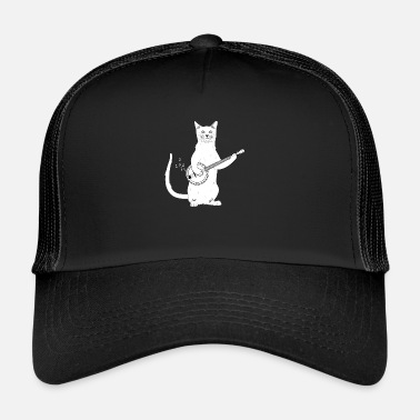Country Banjo Cats Western Shirt Square Dance regalo - Gorra de camionero