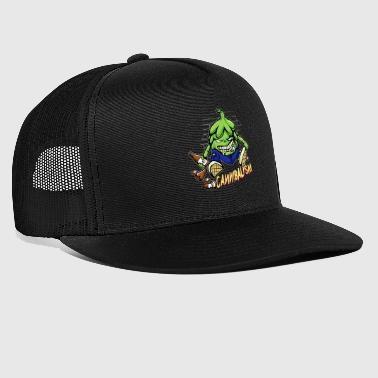 Hops Cannibal Craft Beer Hobby Brewer Cool - Trucker Cap