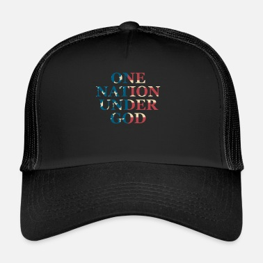 Under The Influence One Nation Under God - Trucker Cap