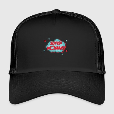 Women - Super Woman - Trucker Cap