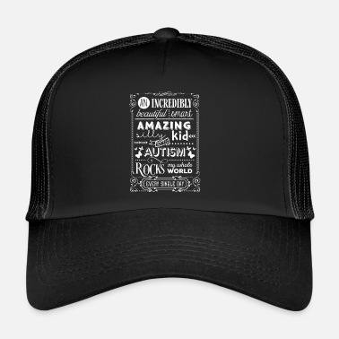 Enfant Prodige Autisme Awareness Gift Les parents de Love Asperger - Trucker Cap