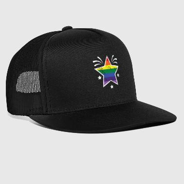 Christopher street day star - Gorra de camionero