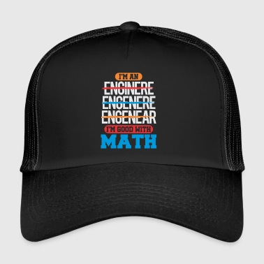 math - Trucker Cap