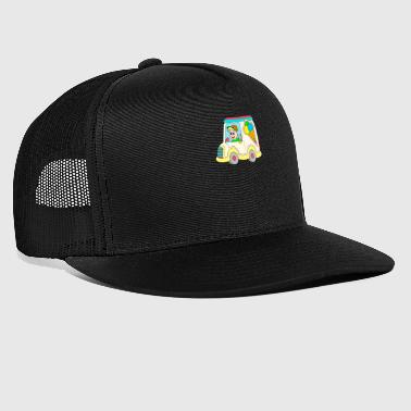ice cream truck - Trucker Cap