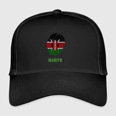KENYA, KENYA DNA FINGERPRINT - Trucker Cap