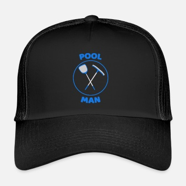 Pool pool man - Trucker Cap