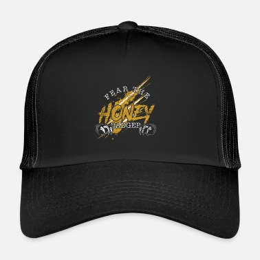 Badger Fear the honey badger - Trucker Cap