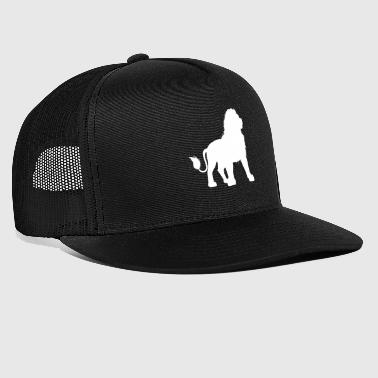 Lion Dad - Dad & Son Funny Matching - Trucker Cap