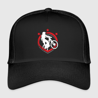 Dirt Mountain bike bike dirt trail terrain - Trucker Cap