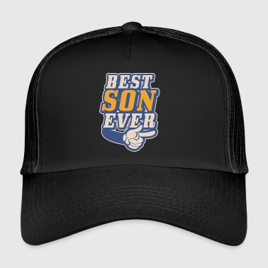 Peetoom Best Son ever - Dad & Son Funny Matching - Trucker Cap