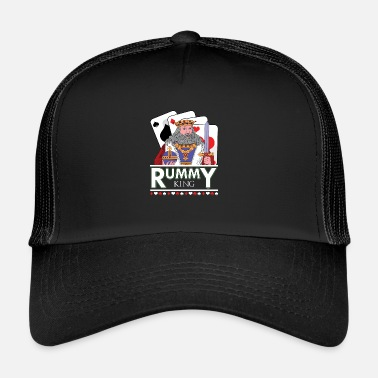 Poker Mazzo di carte di Rummy King - Trucker Cap