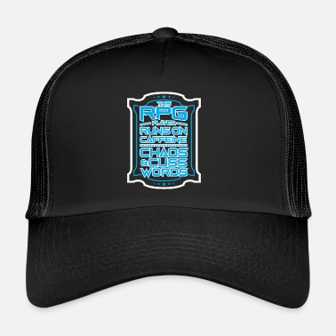 Roleplaying Game Roleplaying quest Gaming Gift - Trucker Cap