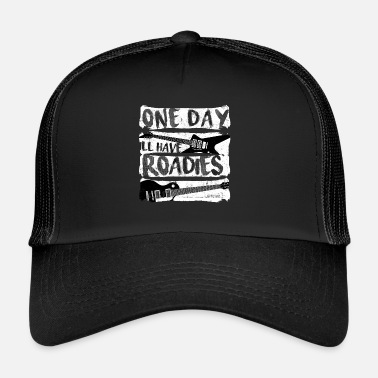 Roadie Guitar One Day Roadies - Trucker Cap