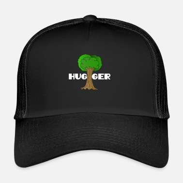 Enviromental Beautiful Nature Tree Tshirt Design Hugger Tree lover Nature Lover - Trucker Cap