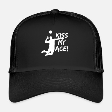 Supplemento supplemento Pallavolo Ass regalo di disegno - Trucker Cap