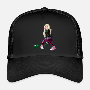 Comics comic meisje - Trucker Cap