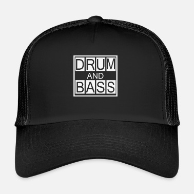 Dnb Drum and Bass T-shirt, koszulka DnB Dubstep - Trucker Cap
