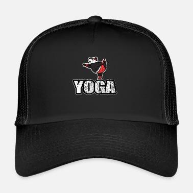 1bdfb9273951f New-age Yoga baile oso retro del New Age - Gorra trucker