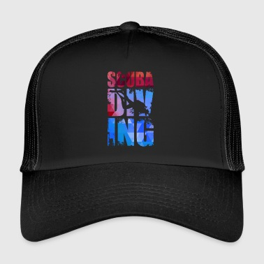 Scuba diving. - Trucker Cap
