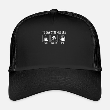 Bike Coffee Bike Beer - Trucker cap