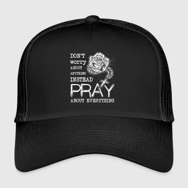 Rosary Church Bible Christian Gift - Trucker Cap