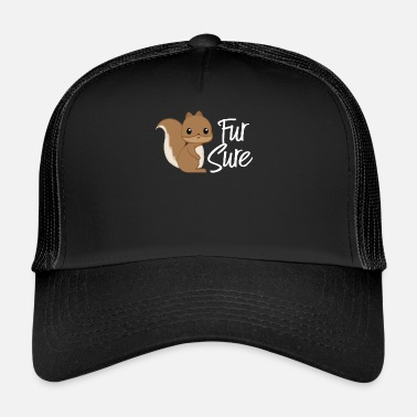 Squirrel Squirrel - squirrel fan - squirrel - Trucker Cap