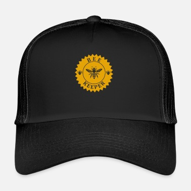 Bumble Bee Beekeeper beekeeper beekeeping bee honey waabe - Trucker Cap