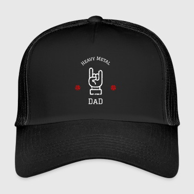 Pogo Hevay Metal Dad Papa Hard Rock Festival - Trucker Cap
