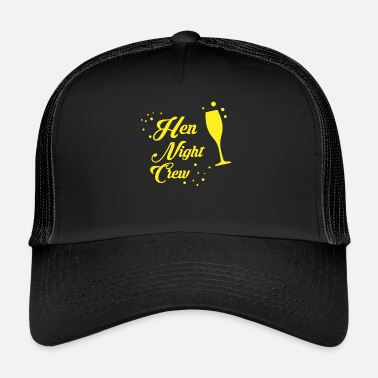 Hen Hen Night Crew - Trucker Cap