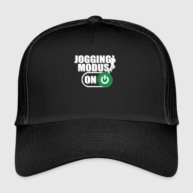 Country Jogging Mode On Gift Running Jogging Sport - Trucker Cap