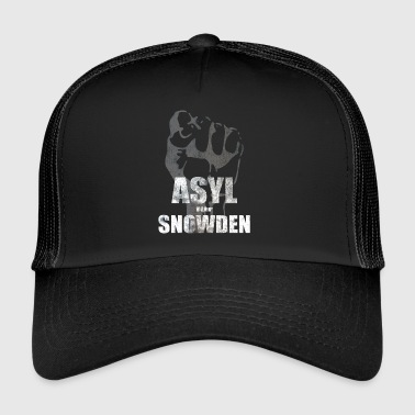 for Edward Snowden - Trucker Cap