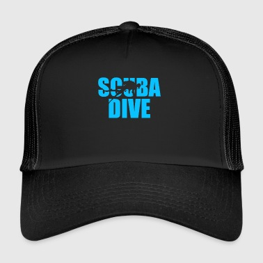 Scuba Dive Scuba Diving - Trucker Cap