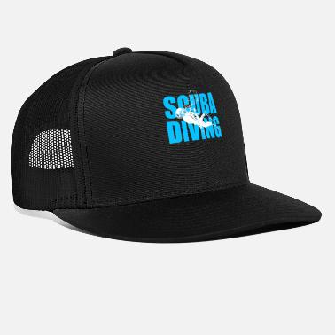 Scuba Scuba Diving Gift idea - Trucker Cap