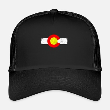 State Colorado state in the western United States - Trucker Cap