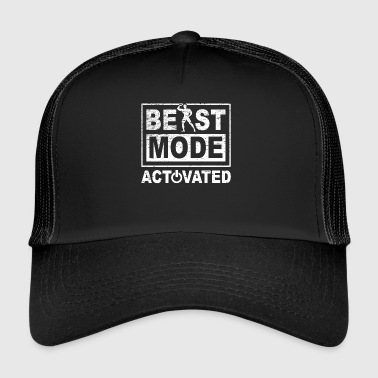 Super Cool Awesome Beast Mode Activado - Gorra de camionero