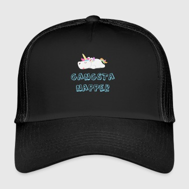 Koszulka Gangsta Unicorn Gangsta Napper - Trucker Cap