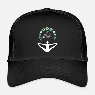 Enlightened Yoga as enlightenment - Trucker Cap