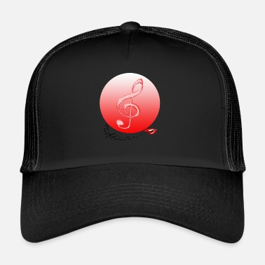 Music Note Musical Notes Violin Music Notes Music - Trucker Cap