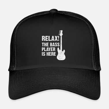 Bass Bass guitarist - Trucker Cap