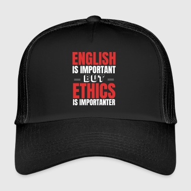Ethical Ethics Religion Gift Idea - Trucker Cap